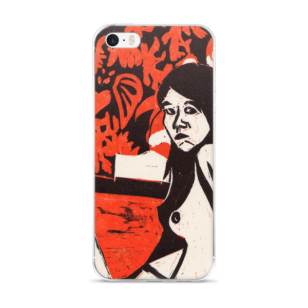 The Ballet Dancer [Woodblock] - Art Series iPhone Case