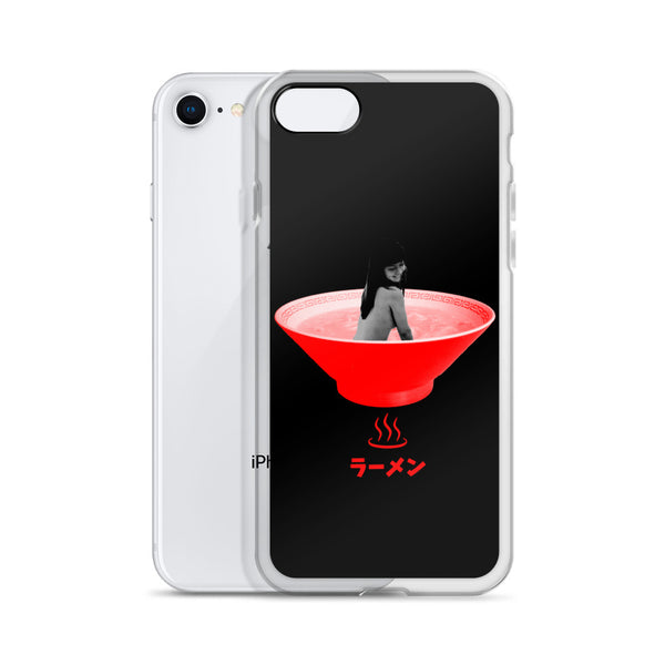 Ramen Onsen iPhone case