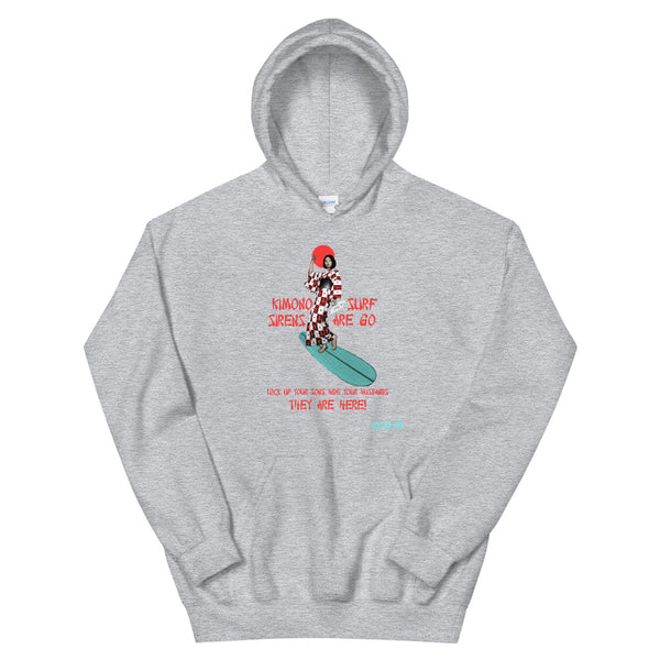 Kimono Surf Sirens Are Here! Hoodie [more colors available]
