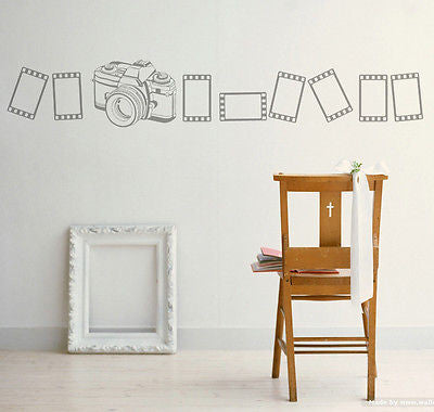 PopDecors Wall Decals & Stickers - Unforgetful Memory - Free Squeegee and color