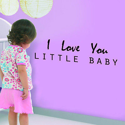 I Love You - Quote Decal
