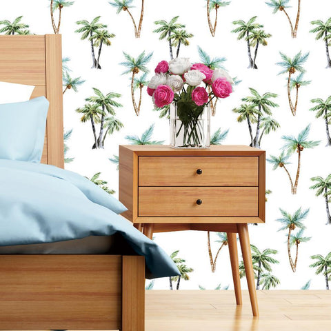 Palm Trees Wallpaper - Coconut Trees Self-adhesive prt0102