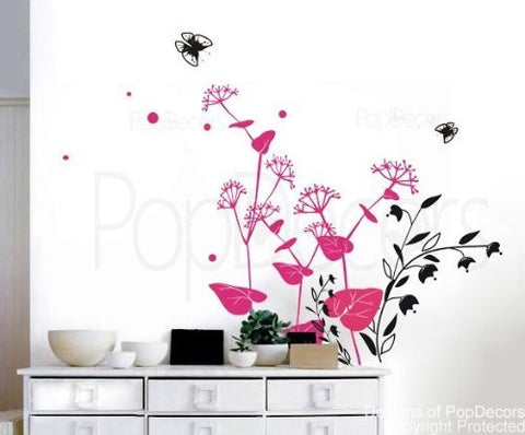Lovely Flowers Wall Decals - PopDecors,Baby Product, Pop Decors, PopDecors