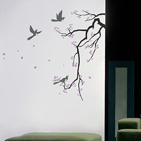 Cherry Blossom Branch-Wall Decal - PopDecors,Baby Product, Pop Decors, PopDecors