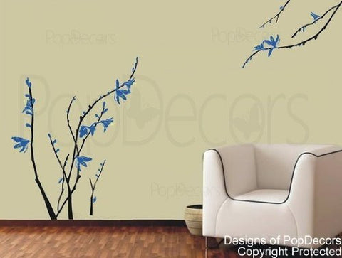 Crocosmia Flower Wall Decals