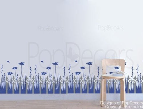 Daisy Garden Wall Decals