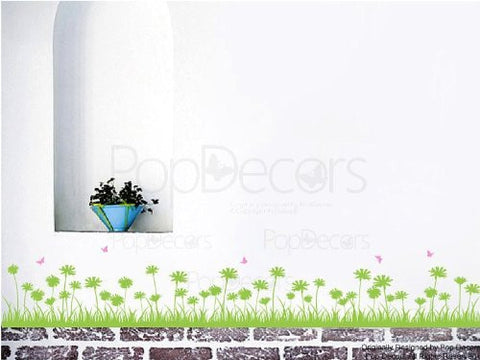 Grass and Butterflies - PopDecors,Baby Product, Pop Decors, PopDecors