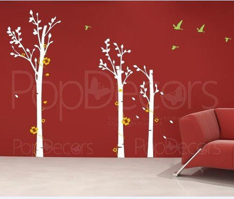 Rees and Flowers-Wall Decal - PopDecors,Baby Product, Pop Decors, PopDecors
