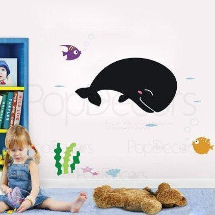 Chalkboard Decal-Ocean World- Wall Decals - PopDecors,Baby Product, Pop Decors, PopDecors