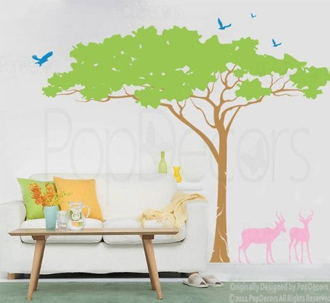 Umbrella Tree-Wall Decal - PopDecors,Baby Product, Pop Decors, PopDecors