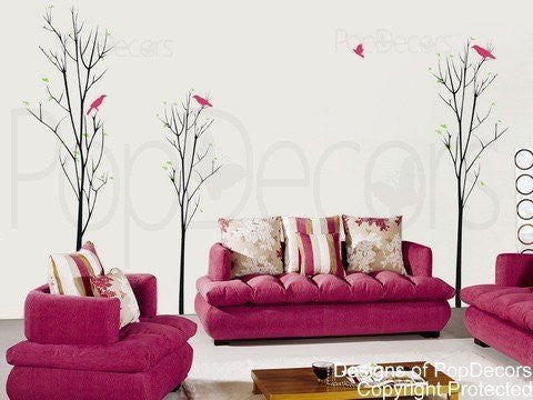Young Trees-Wall Decal - PopDecors,Baby Product, Pop Decors, PopDecors