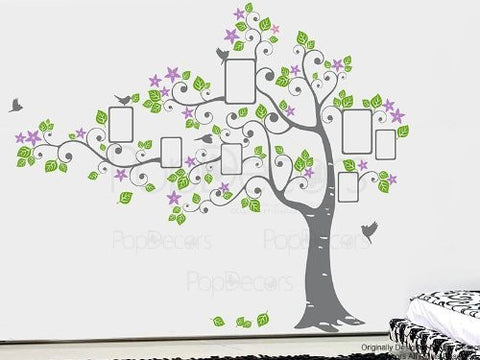 Big Photo Tree-Wall Decal - PopDecors,Baby Product, Pop Decors, PopDecors