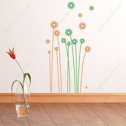 Custom PopDecals - Beautiful dandelions - Beautiful Tree Wall Decals for Kids Rooms Teen Girls Boys Wallpaper Murals Sticker Wall Stickers Nursery Decor Nursery Decals - PopDecors,Home, PopDecals, PopDecors