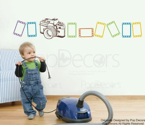 PopDecors Wall Decals & Stickers - Unforgetful Memory - Free Squeegee and color change - Modern Wall Stickers Removable