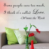 Some People Care Too Much-Quote Decal