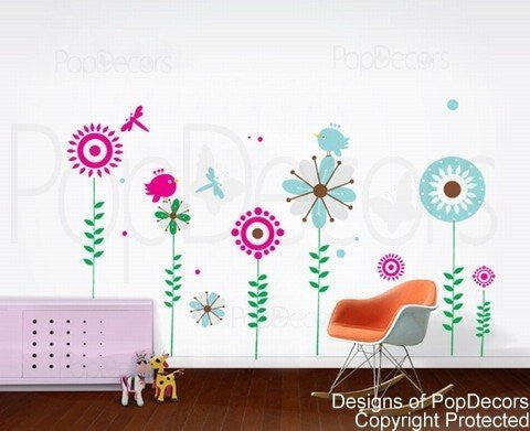 Lovely Tree Wall Decals