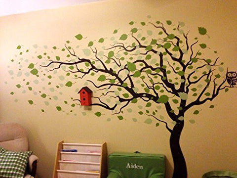 Tree Blowing In The Wind 83 Quot H Wall Decals