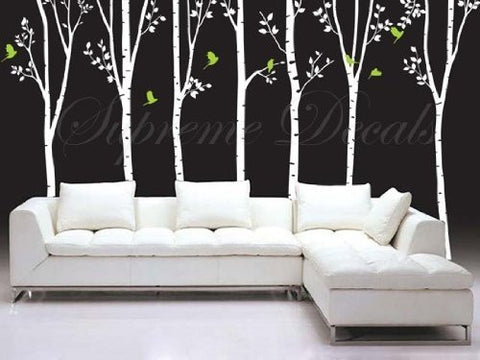 7 Big Cool Trees- Wall Decals- PDA-0106 - PopDecors,Baby Product, PopDecals, PopDecors