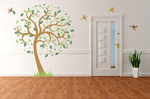 Hope Tree with Flying Birds-Wall Decal - PopDecors,Baby Product, Pop Decors, PopDecors