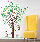 Maidenhair Tree-Wall Decal - PopDecors,Baby Product, Pop Decors, PopDecors