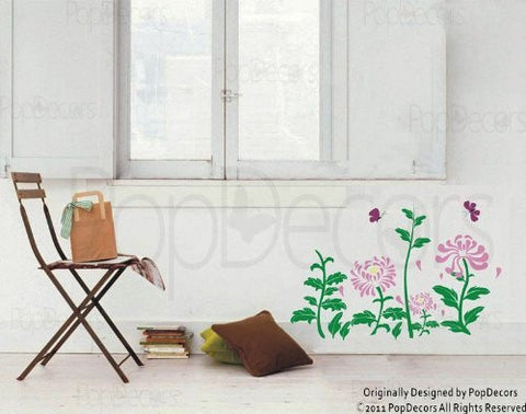 Daisy Flowers Wall Decals - PopDecors,Baby Product, Pop Decors, PopDecors