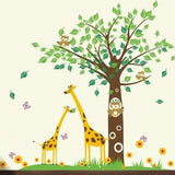 Baby Nursery Giraffe-Wall Decal - PopDecors,Home, Pop Decors, PopDecors