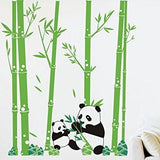 Pandas Love Bamboo-Wall Decal - PopDecors,Home, Pop Decors, PopDecors