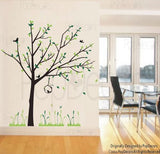 Spring Tree and Reed Flowers-Wall Decal - PopDecors,Baby Product, Pop Decors, PopDecors