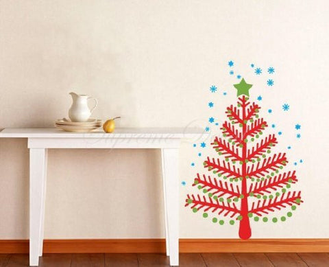 Custom PopDecals Christmas Decals Christmas Tree Beautiful Tree