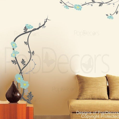 Peaceful Flowers Wall Decals - PopDecors,Baby Product, Pop Decors, PopDecors