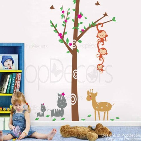 Woodland-Wall Decal - PopDecors,Baby Product, Pop Decors, PopDecors