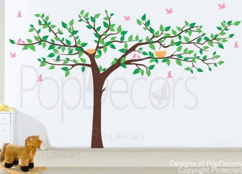Colorful Super Big Tree Four Colors-Wall Decal - PopDecors,Baby Product, Pop Decors, PopDecors