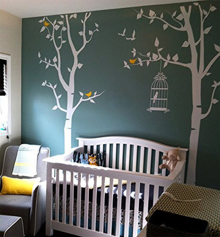 Nursery Tree with Personalized Kid's Name-Wall Decal - PopDecors,Home, Pop Decors, PopDecors