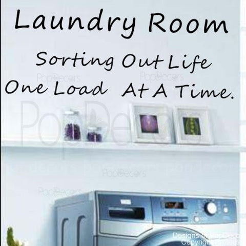 Laundry Room-Quote Decal - PopDecors,Baby Product, Pop Decors, PopDecors