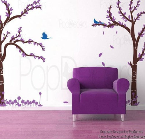 Love Twin Tree-Wall Decal - PopDecors,Baby Product, Pop Decors, PopDecors