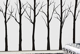 Set of Six Winter Cool Tree-Wall Decal - PopDecors,Baby Product, Pop Decors, PopDecors