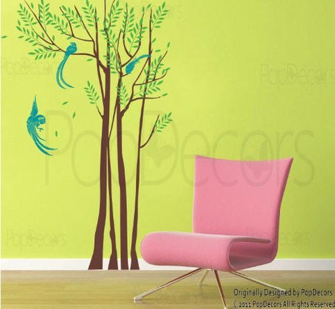 Phoenix In The Forest-Wall Decal