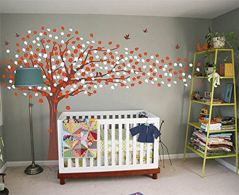 Sakura Tree (85inch H-Wall Decal - PopDecors,Baby Product, Pop Decors, PopDecors