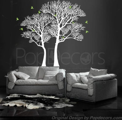 Nature Twin Tree-Wall Decal - PopDecors,Baby Product, Pop Decors, PopDecors