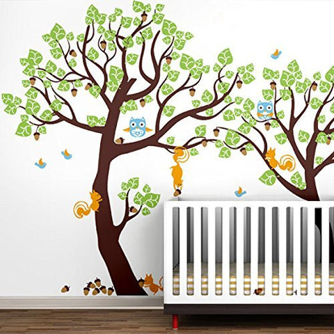 Pop Decors Wall Stickers, Lovely Pine Tree