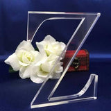 "Free Standing 6""H, 1/2"" Thick Acrylic Letters With Your Own Text"