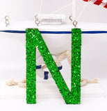 "6"" H Custom Wood Glitter Letters - PopDecors,, PopDecors, PopDecors"