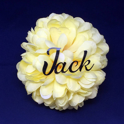 "3"" H Custom Acrylic Name - PopDecors,, PopDecors, PopDecors"