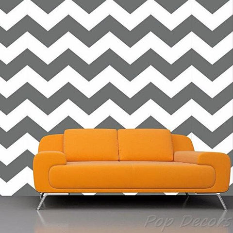 ZigZag Self-adhesive Fabric Chevron Wallpapers -prt0023-b