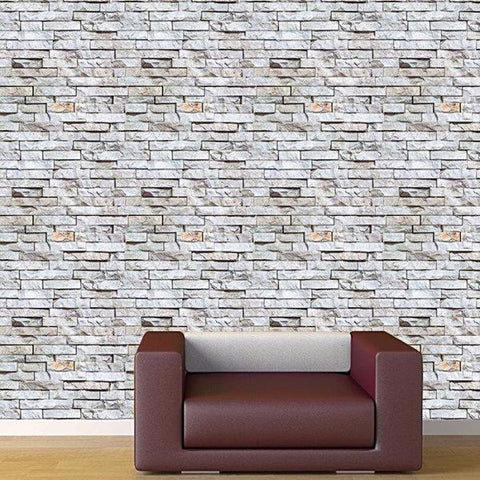 Seamless Brick Wallpaper- Modern Wall Mural -prt0055