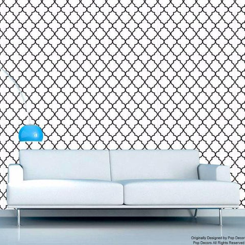 Moroccan 2 - Modern Seamless Fabric Wallpaper -prt0032