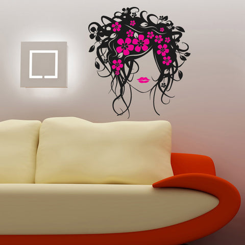 Beautiful Girl- Wall Decals for Kids Rooms Teen Girls