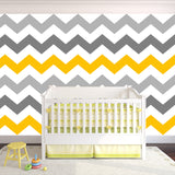ZigZag Self-adhesive Fabric Chevron Wallpaper -prt0023-c