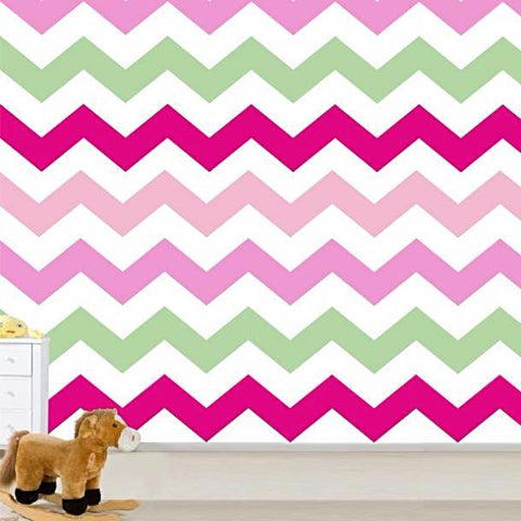 ZigZag Self-adhesive Fabric Chevron Wallpaper -prt0023-a