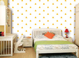 Seamless Small Triangles - Modern Wall Murals -prt0061